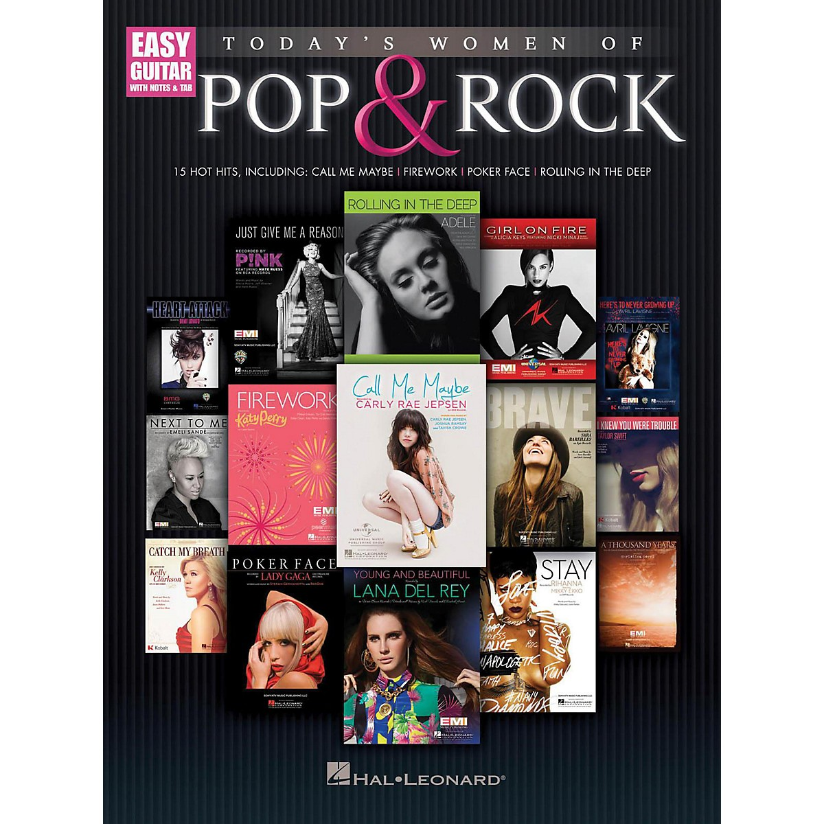 Hal Leonard Today's Women Of Pop & Rock (Easy Guitar With Tab)