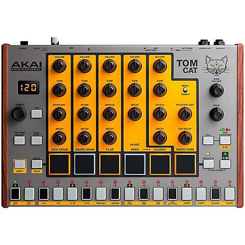 akai professional tom cat analog drum machine guitar center. Black Bedroom Furniture Sets. Home Design Ideas
