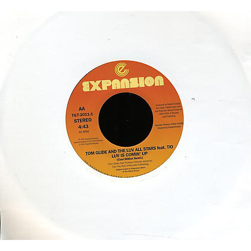 Alliance Tom Glide & the Love All Stars - Luv Is Coming/Luv Is Coming Remix