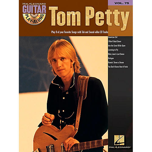 Hal Leonard Tom Petty Guitar Play-Along Series (Book/Online Audio)