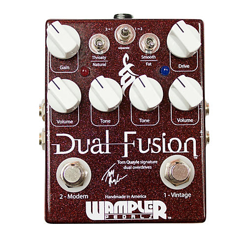 Wampler Tom Quayle Signature Dual Overdrive Guitar Effects Pedal
