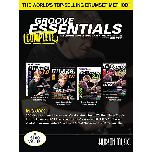 Hudson Music Tommy Igoe – Groove Essentials 1.0/2.0 Complete Online Audio And Video