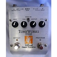 Korg ToneWorks 105OD Classic Overdrive Effect Pedal