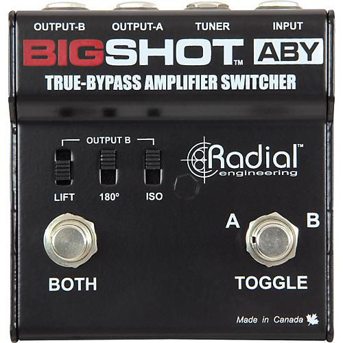 Radial Engineering Tonebone BigShot ABY Passive Switcher
