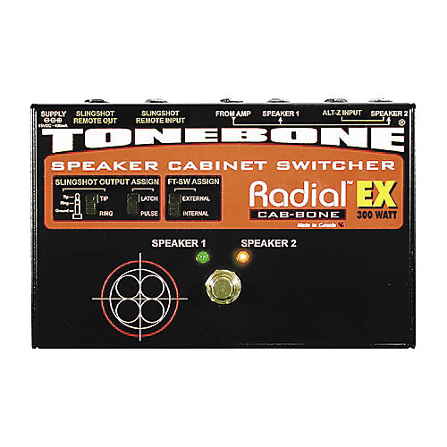 Radial Engineering Tonebone Cab-bone EX Speaker Cabinet Switcher 300 Watt
