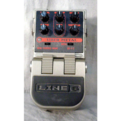 Line 6 Tonecore Uber Metal Heavy Distortion Effect Pedal