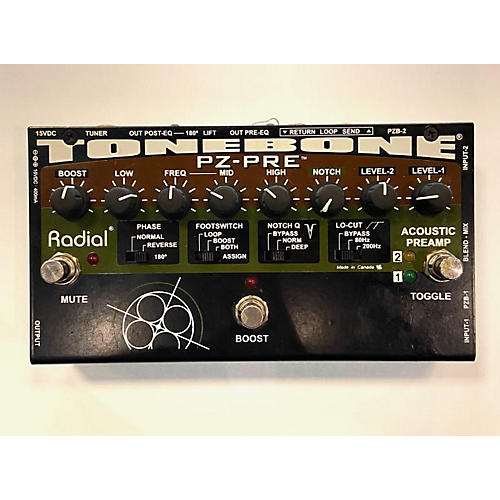 Radial Engineering Tonenone PZ-PRE Effect Pedal