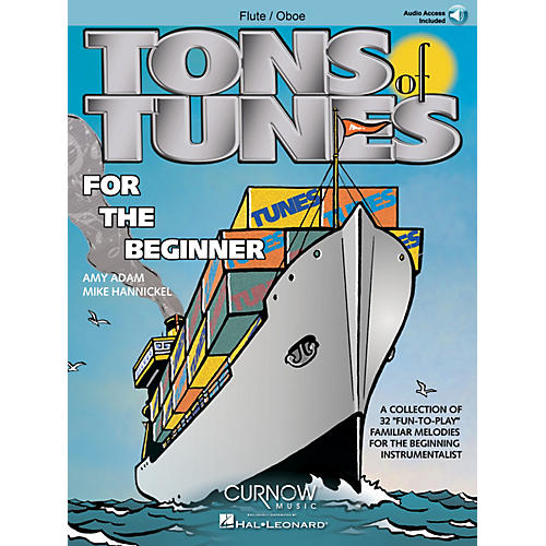 Curnow Music Tons of Tunes for the Beginner (Flute/Oboe/Violin - Grade 0.5 to 1) Concert Band Level .5 to 1