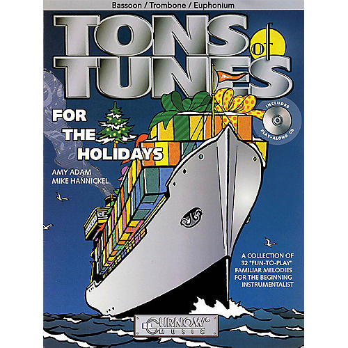 Curnow Music Tons of Tunes for the Holidays Concert Band Level .5 to 1