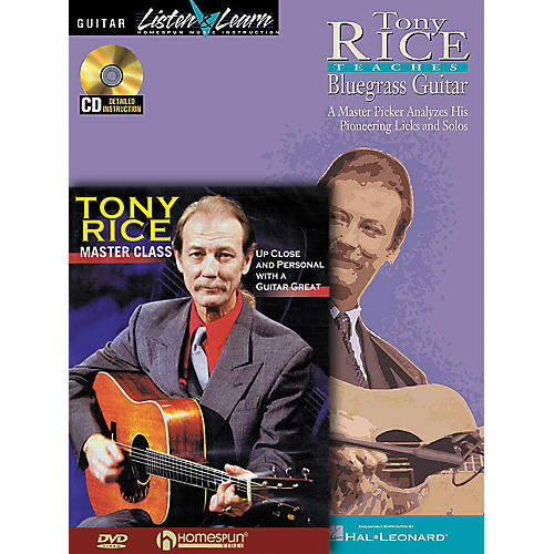 Homespun Tony Rice Guitar Pack (Book/CD/DVD)