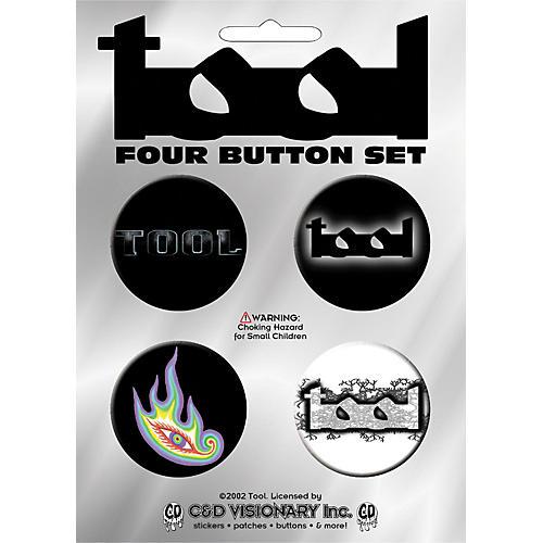 C&D Visionary Tool 4-Piece Button Set