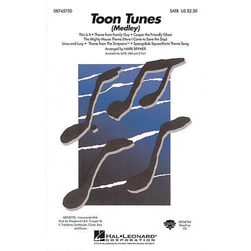 Hal Leonard Toon Tunes ShowTrax CD Arranged by Mark Brymer