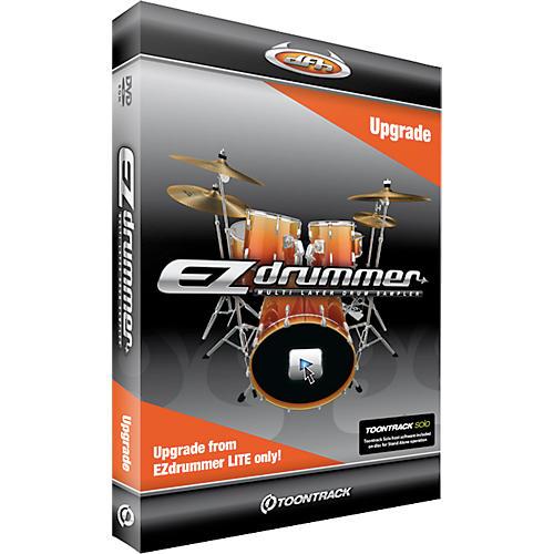 Toontrack ToontrackEZ Drummer Lite Upgrade to EZDrummer