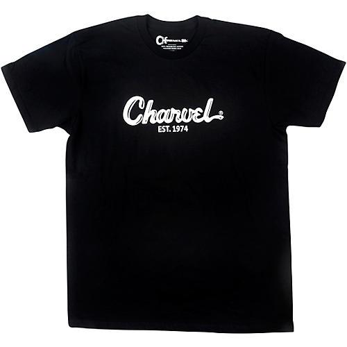 Charvel Toothpaste Logo Black T-Shirt