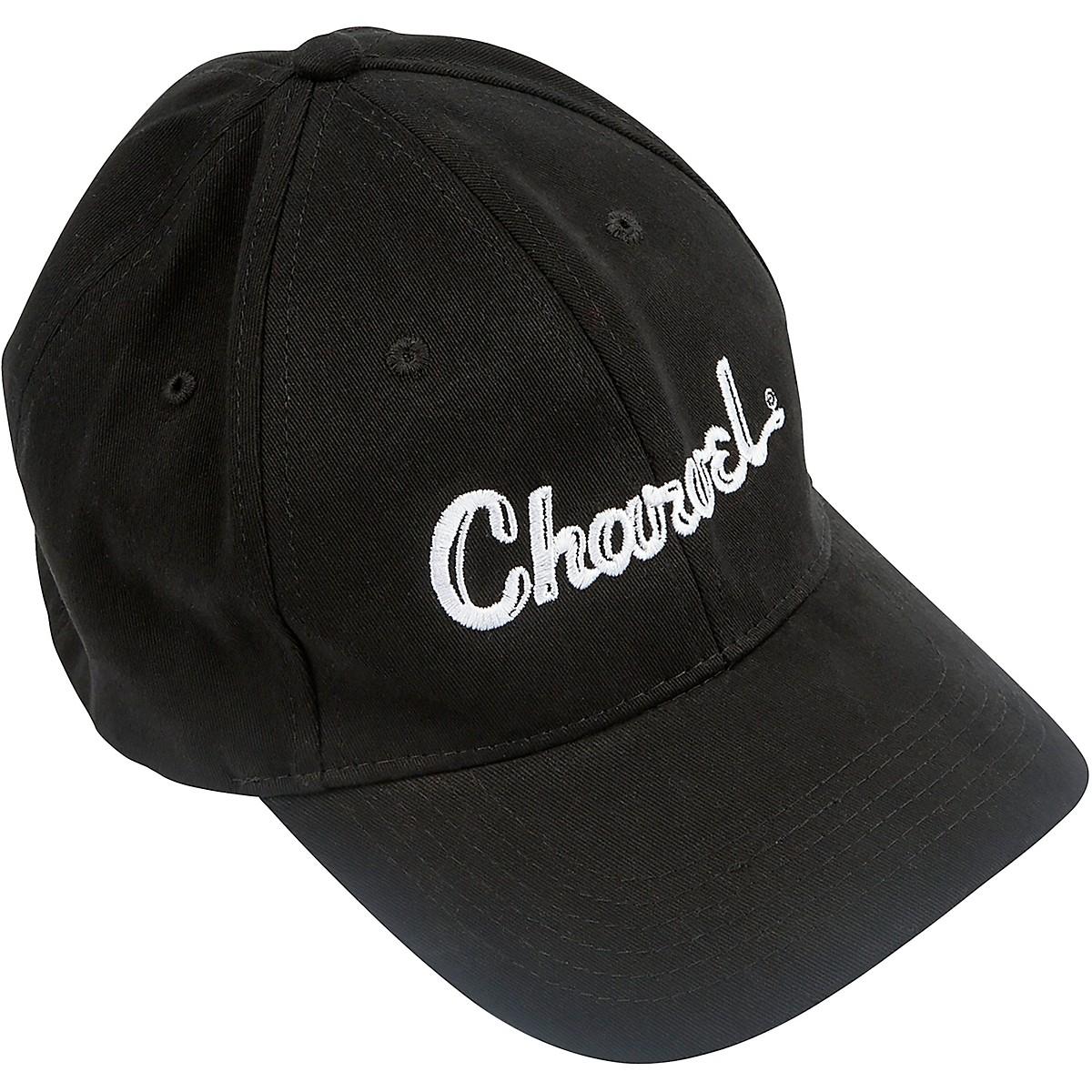 Charvel Toothpaste Logo Flexfit Hat - Black