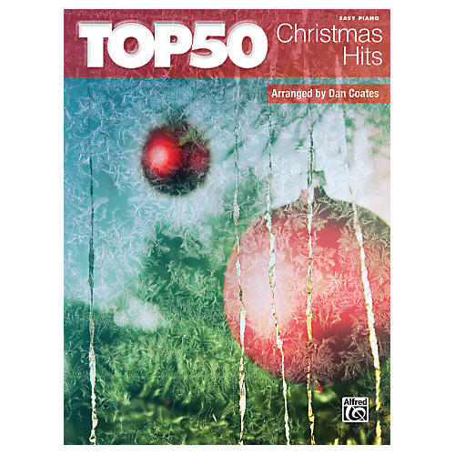 Alfred Top 50 Christmas Hits Easy Piano Book