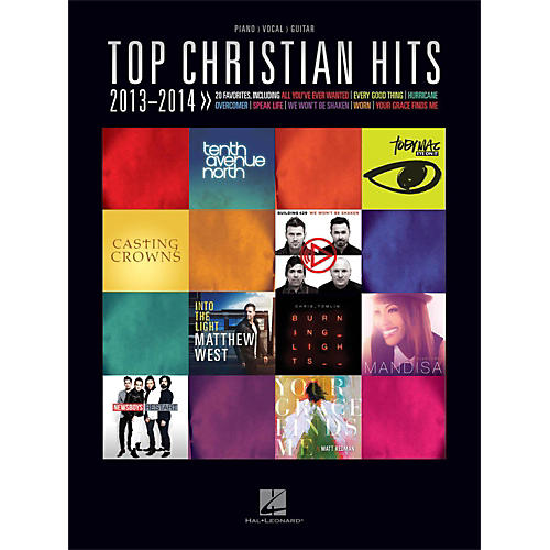Hal Leonard Top Christian Hits 2013-2014 for Piano/Vocal/Guitar