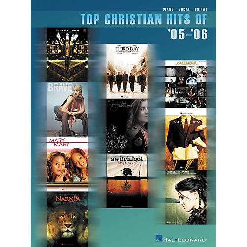 Hal Leonard Top Christian Hits of '05-'06 Piano, Vocal, Guitar SongbooK