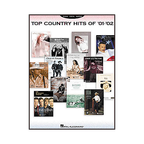 Hal Leonard Top Country Hits of 2001-2002 Songbook