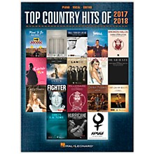 Hal Leonard Top Country Hits of 2017-2018 - Piano/Vocal/Guitar Songbook