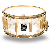WFL Top Hat and Cane Collector's Acrylic Snare Drum with Gold Hardware