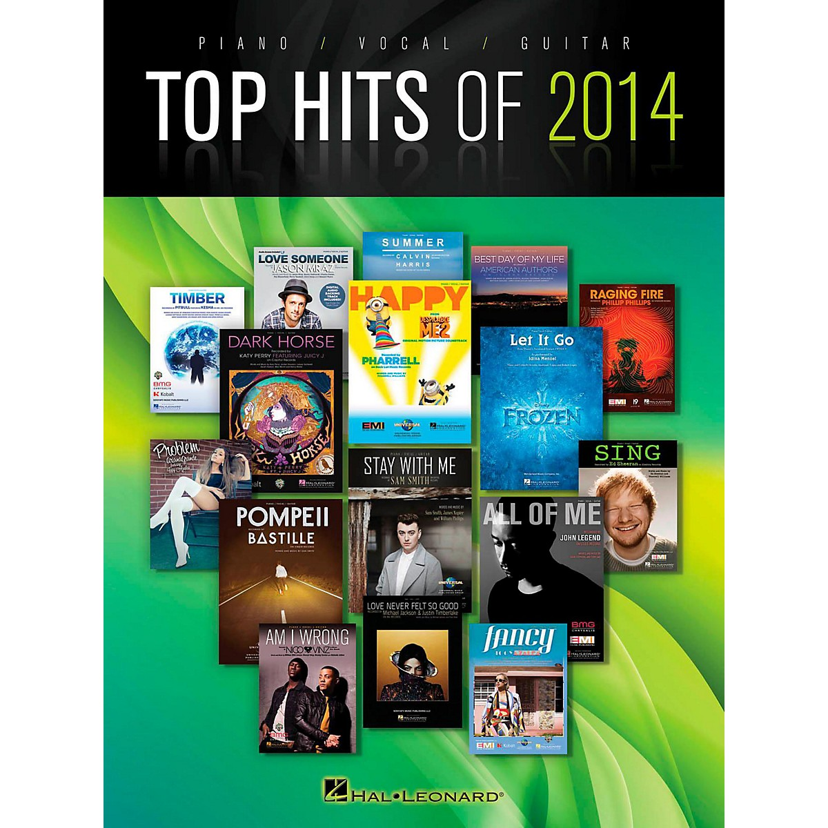 Hal Leonard Top Hits Of 2014 Piano/Vocal/Guitar
