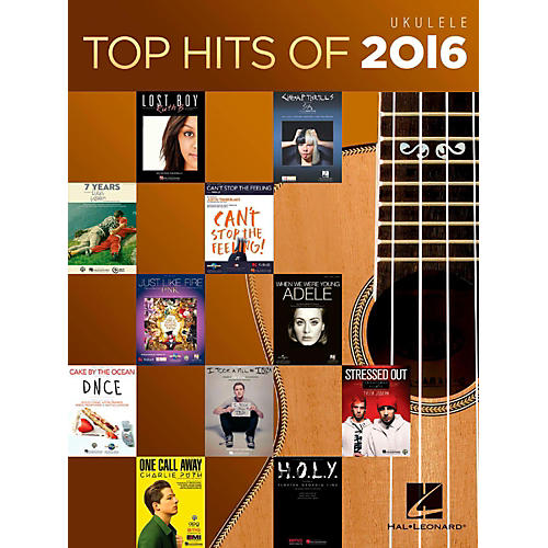 Hal Leonard Top Hits Of 2016 - Ukulele