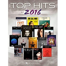 Hal Leonard Top Hits Of 2016 for Piano/Vocal/Guitar