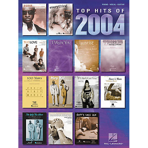 Hal Leonard Top Hits of 2004 Piano, Vocal, Guitar Songbook
