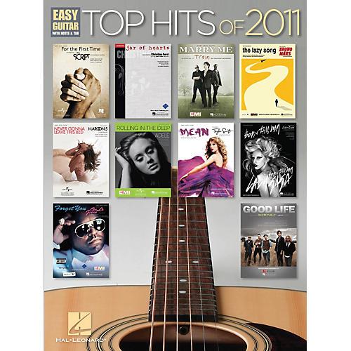 Hal Leonard Top Hits of 2011 Easy Guitar Songbook