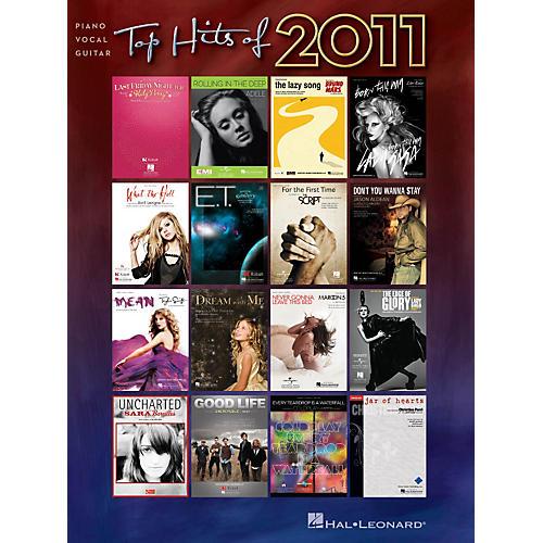 Hal Leonard Top Hits of 2011 Piano/Vocal/Guitar Songbook