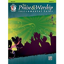 Alfred Top Praise & Worship Instrumental Solos - Horn in F, Level 2-3 (Book/CD)
