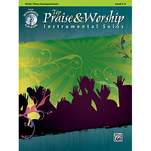 Alfred Top Praise & Worship Instrumental Solos - Violin, Level 2-3 (Book/CD)