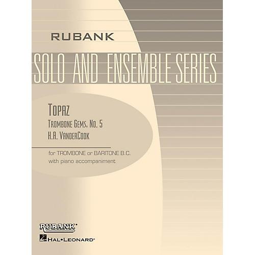 Rubank Publications Topaz (Trombone (Baritone B.C.) Solo with Piano - Grade 2) Rubank Solo/Ensemble Sheet Series