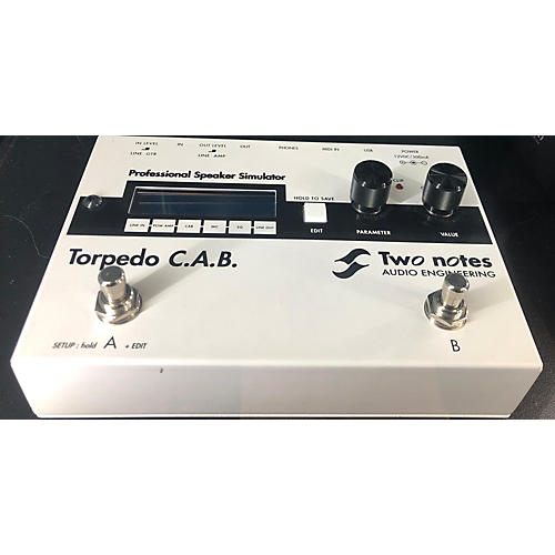 used two notes audio engineering torpedo c a b effect processor guitar center. Black Bedroom Furniture Sets. Home Design Ideas