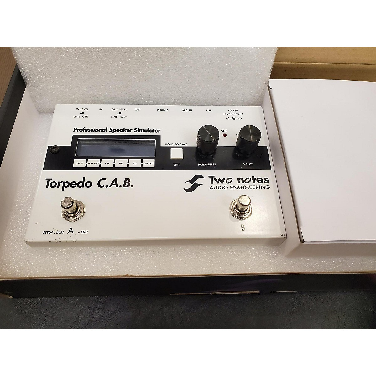 Two Notes Audio Engineering Torpedo C.a.b Effect Processor