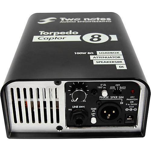 Two Notes Audio Engineering Torpedo Captor Loadbox/Attenuator/DI