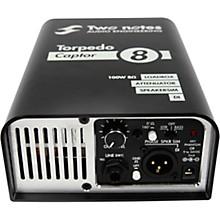 Torpedo Captor Loadbox/Attenuator/DI Level 1 Black 8 Ohm