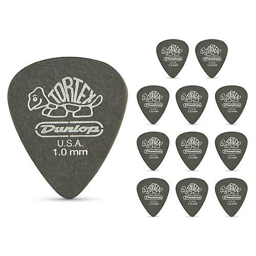 Dunlop Tortex Pitch Black Standard Guitar Picks 1 Dozen