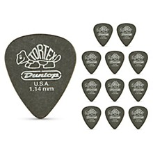 Dunlop Tortex Pitch Black Standard Guitar Picks 1 Dozen