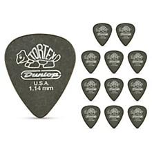 Tortex Pitch Black Standard Guitar Picks 1 Dozen 1.14 mm