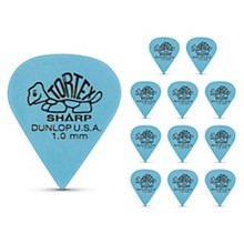 Tortex Sharp Guitar Picks 1 Dozen 1.0 mm