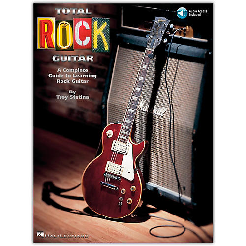 Hal Leonard Total Rock Guitar (Book/Online Audio)