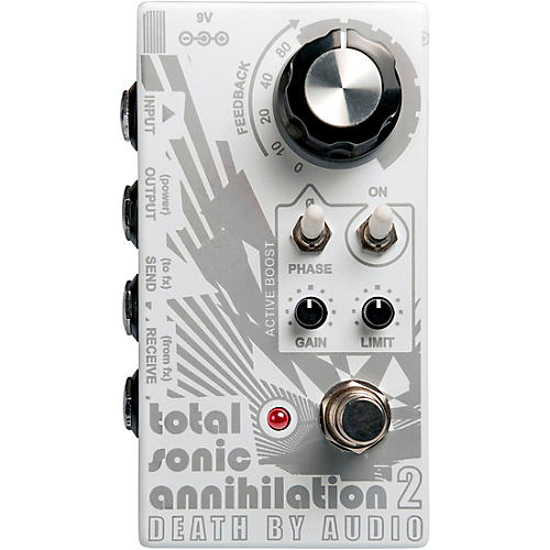 Death By Audio Total Sonic Annihilation 2 Forced Feedback Loop Noise Effects Pedal