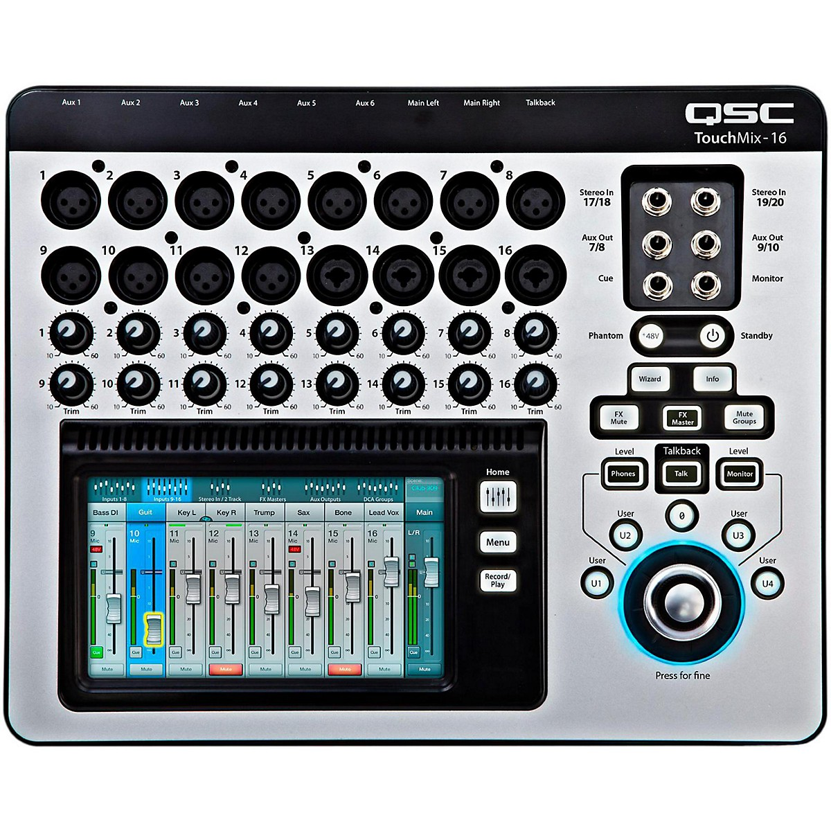 QSC TouchMix-16 16-Channel Compact Digital Mixer
