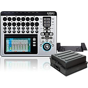 qsc touchmix 16 compact digital mixer with rackmount kit and case guitar center. Black Bedroom Furniture Sets. Home Design Ideas