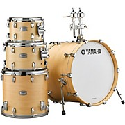 Tour Custom Maple 4-Piece Shell Pack with 20 in. Bass Drum Butterscotch Satin