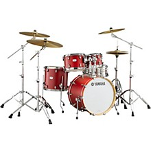 Tour Custom Maple 4-Piece Shell Pack with 20 in. Bass Drum Candy Apple Satin