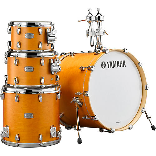 yamaha tour custom maple 4 piece shell pack with 20 in bass drum caramel satin guitar center. Black Bedroom Furniture Sets. Home Design Ideas
