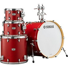 Tour Custom Maple 4-Piece Shell Pack with 22 in. Bass Drum Candy Apple Satin